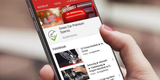 Green Car YouTube-csatorna
