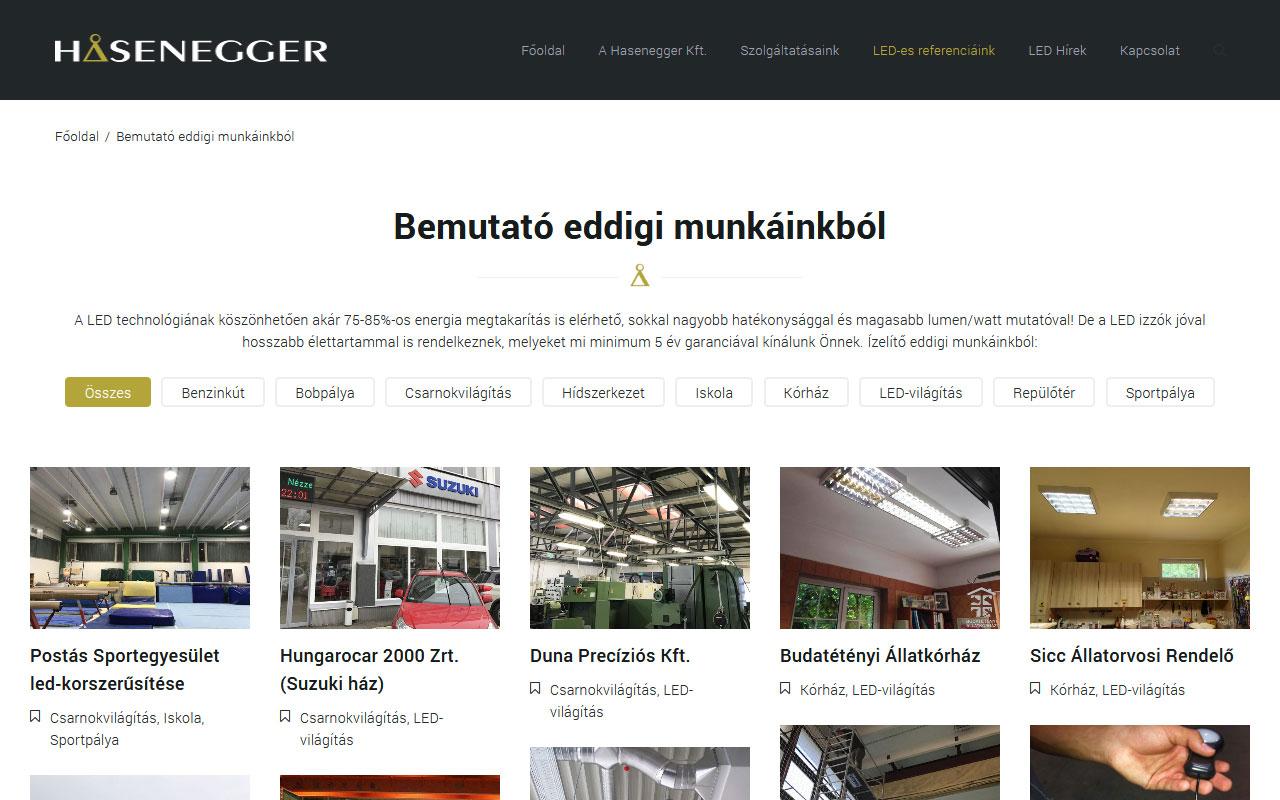 Hasenegger: LED-technológia, másképp