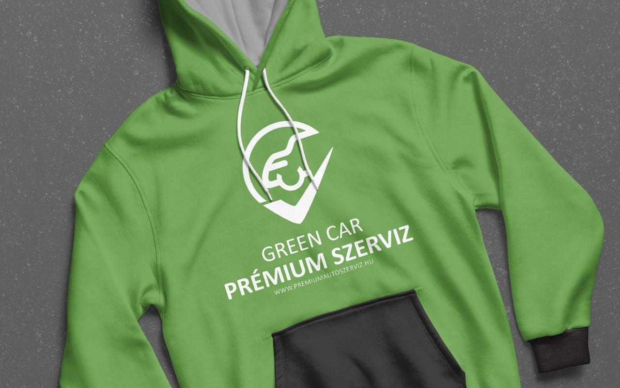 Green Car Szerviz Arculatterv Tervezése