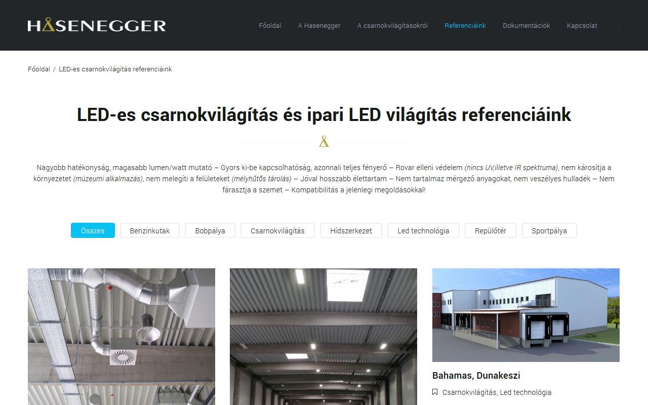 LED-es csarnokvilágítás, akár 75% megtakarítással!